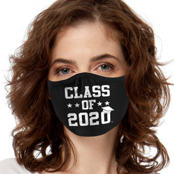 CLASS OF 2020 MASK FACE MASKS