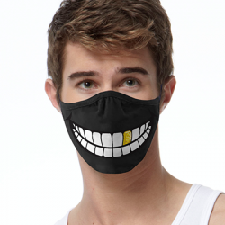 GOLD TOOTH FACE MASKS