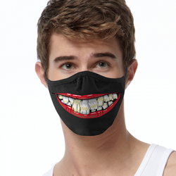 TOOTHY LIPS FACE MASKS