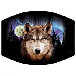 WOLF LIGHTNING DYETRANS MASK TRANSFERS