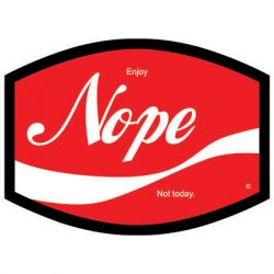 NOPE COLA DYETRANS MASK TRANSFERS