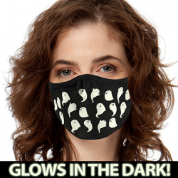 GHOSTS GLOW MASK