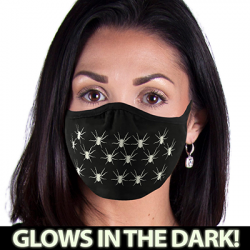 SPIDERS GLOW MASK