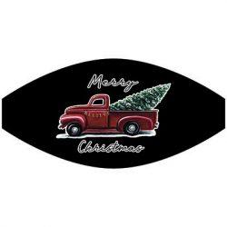 MERRY CHRISTMAS TREE TRUCK MASK TRANSFERS