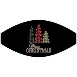PLAID CHRISTMAS TREES MASK TRANSFERS