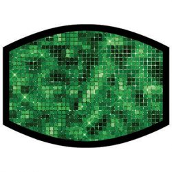 GREEN SPARKLE DYETRANS MASK TRANSFERS