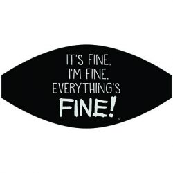 EVERYTHING'S FINE MASK TRANSFERS