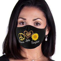 PEACE LOVE SUNSHINE 2-PLY MASKS